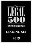 The Legal 500 United Kingdom - Leading Set 2019