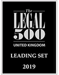 The Legal 500 United Kingdom - Leading Set 2019
